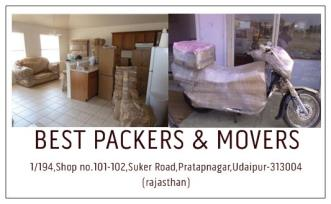 Best Packers Movers, Udaipur