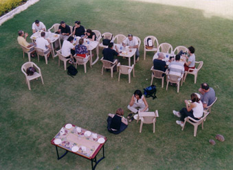 Open Air Party Lawn: Garden View Hotel, Nathdwara
