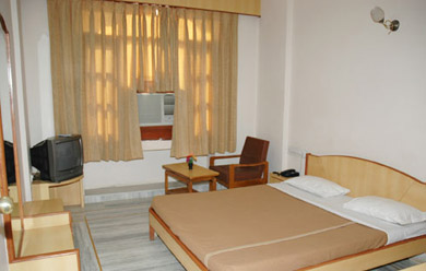 Rooms at Garden View Hotel, Nathdwara